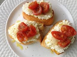 Ricotta/Tomato Toasts