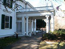 Entrance of Frelinghuysen Mansion