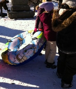 Sled (inflated)