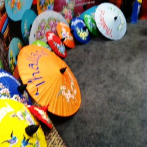 The Umbrellas of Thailand, NYT Travel Show
