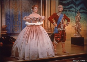 Constance Carpenter (?) and Yul Brenner in King and I