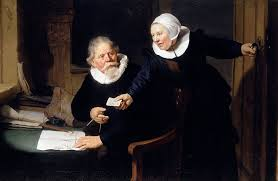 Rembrandt's The Shipbuilder and His Wife