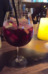 Red sangria at Roux