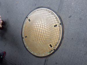 Con Ed's Millenium Manhole Cover (is this what bill payment funds?)