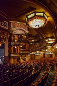 Belasco Theater interior - photo Rick Bruner, New York Landmarks Conservancy